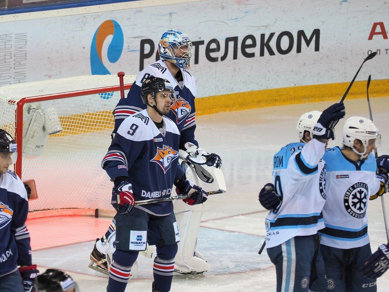 79Плей-офф 2016 Восток 1/2 Металлург - Сибирь 10.03.2016