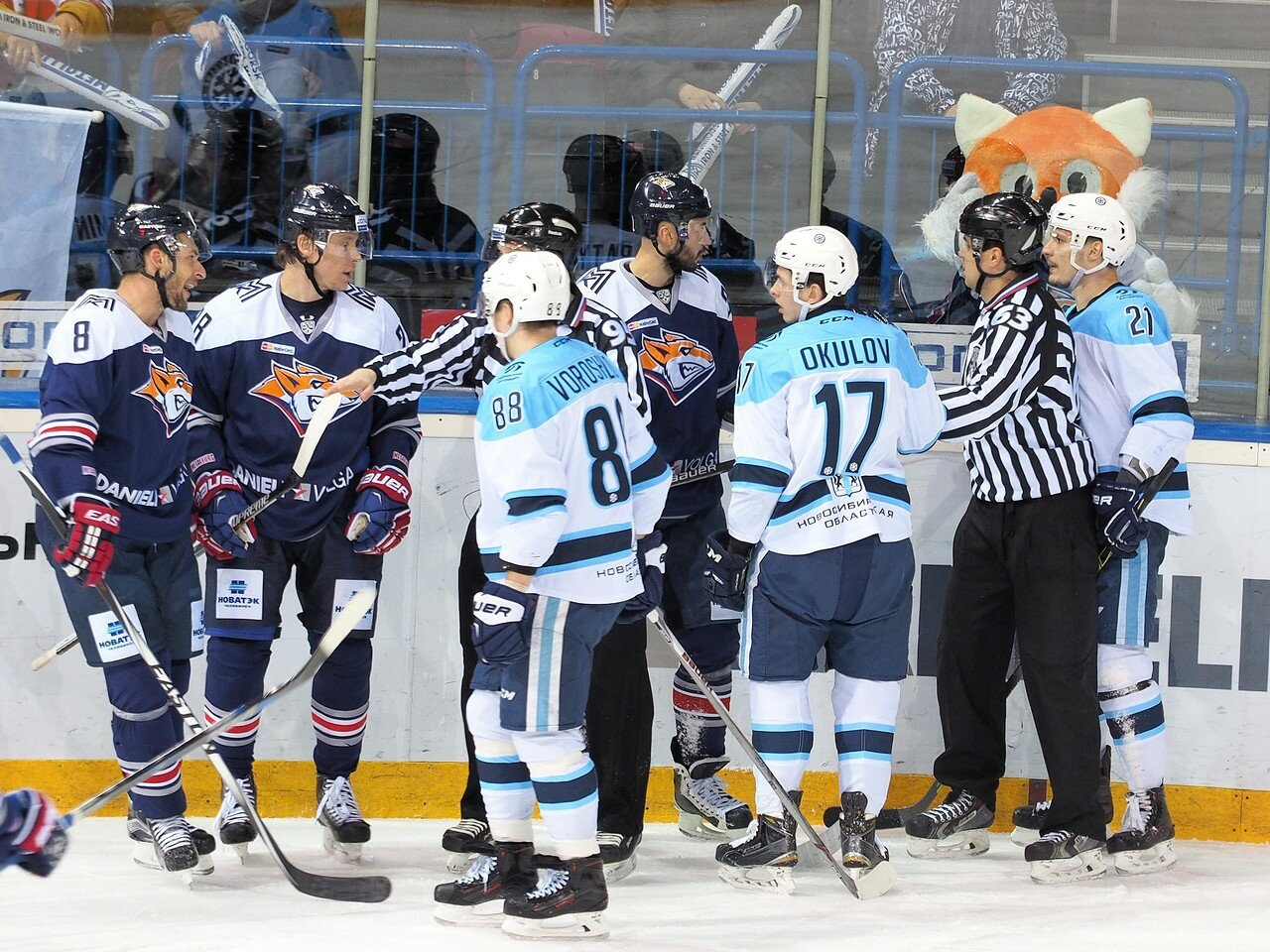 82Плей-офф 2016 Восток 1/2 Металлург - Сибирь 10.03.2016