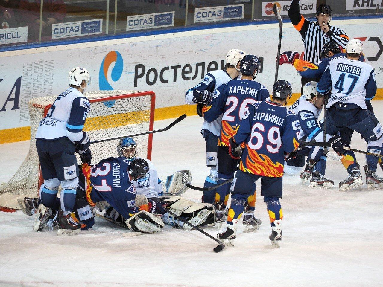 38Плей-офф МХЛ 2016 1/4 Стальные Лисы - Сибирские Снайперы 21.03.2016