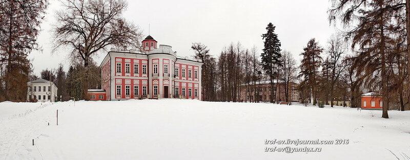 Дворец, Усадьба Вяземы, музей-заповедник А.С.Пушкина