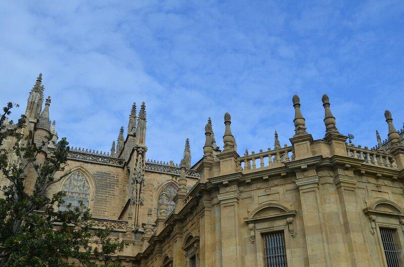 Верхушка собора