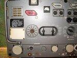 Передняя панель радиостанции Р-111