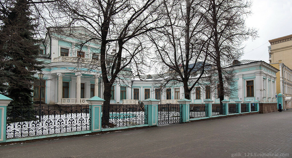 Moscow. Margarita Morozova's mansion
