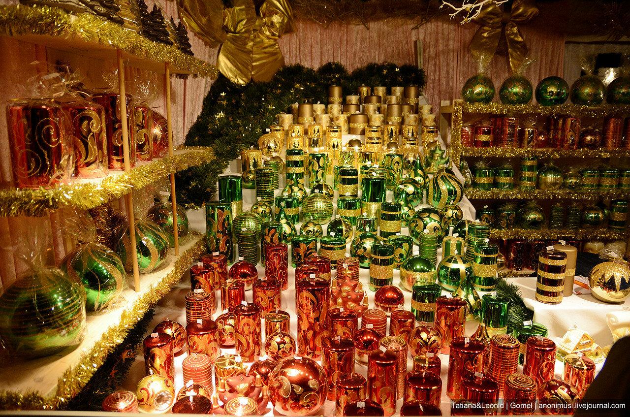Рождественская ярмарка возле городской ратуши. Вена
