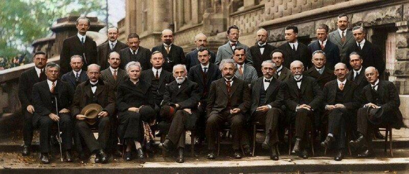 Фото дня: самые умные люди планеты на одной фотографии