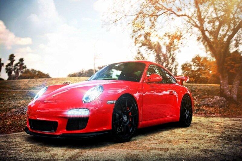 Правильный цвет машины для женщин (журнал «Блондинка»)