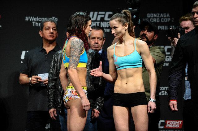 Марина Мороз   перша українка в турнірі UFC (Абсолютний бійцівський чемпіонат)