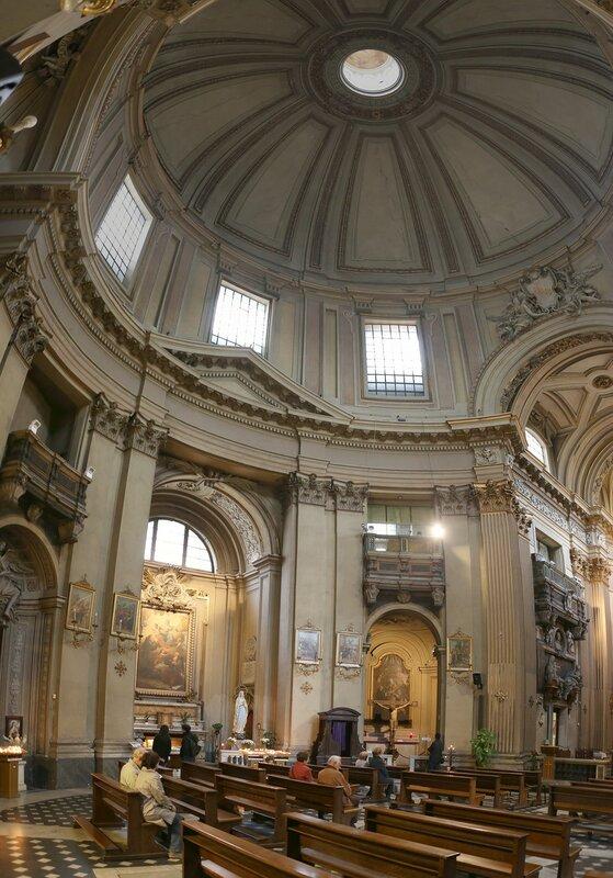 Рим. Церковь Санта-Мария-деи-Мираколи (Chiesa di Santa Maria dei Miracoli)