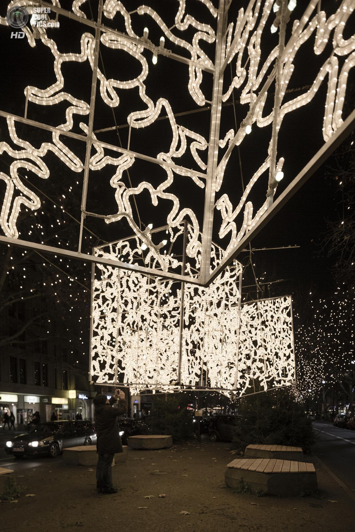 Рождественские инсталляции в Берлине