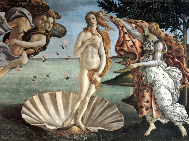 Самый посещаемый музей Италии. Кажется, на«Рождение Венеры» Сандро Боттичелли можно смотреть часами