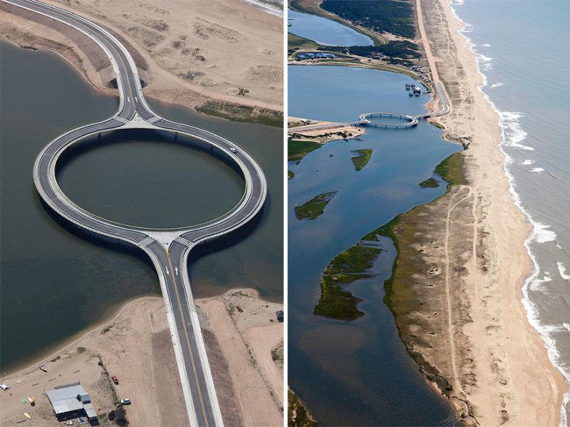 Круговой мост для наслаждения видами