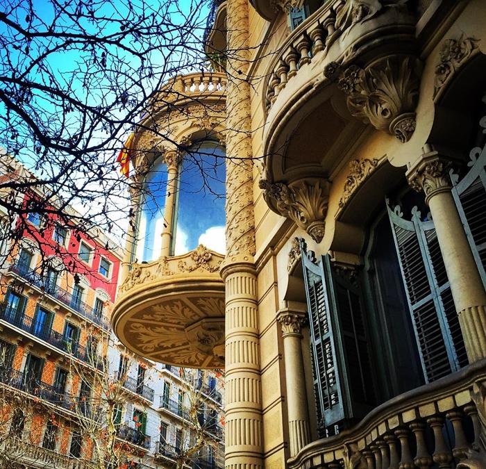 Красивая архитектура Барселоны Instagram фото 7