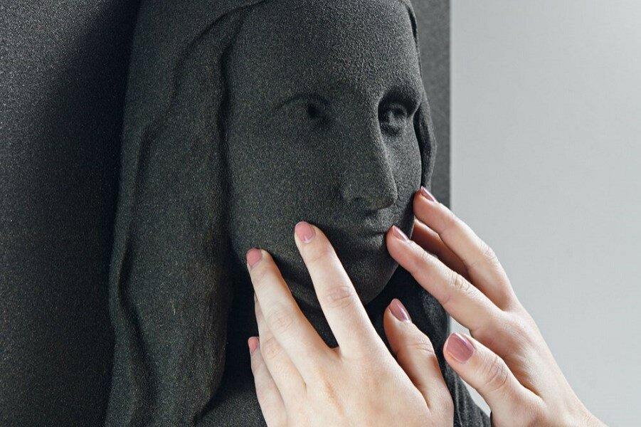 Невидимое искусство: 3D-печать. Классические картины для слепых