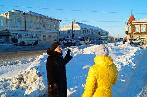 Прогулки по Краскома в Куйбышеве