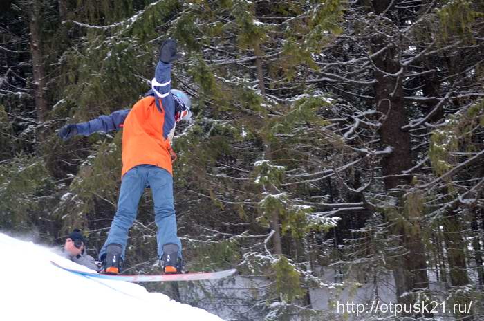 Соревнования по сноуборду
