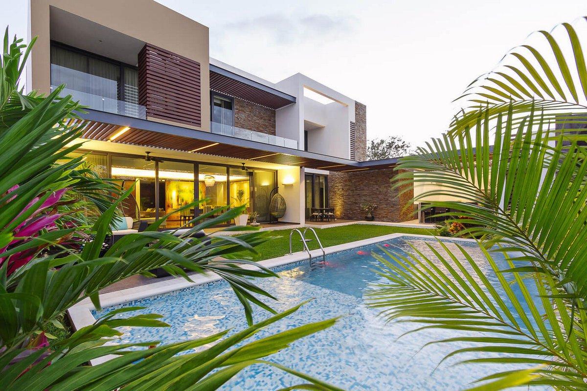 Enrique Cabrera, Мерида, Мексика, House Springs, частные дома в Мексике фото, особняк в Мексике фото, частный дом с бассейном фото