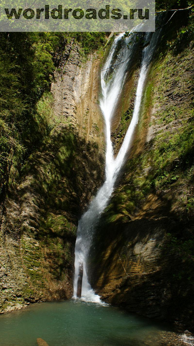 схема змейковских водопадов