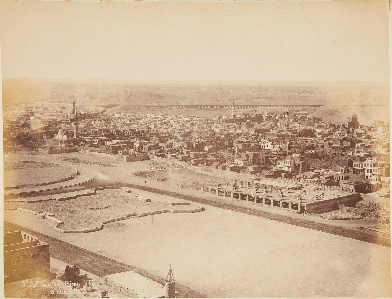 Каир. Панорама города