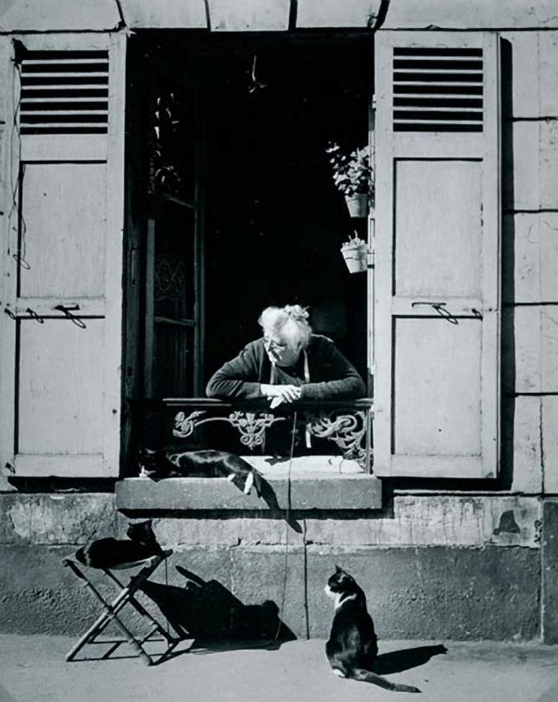 1946. Консьерж, Париж