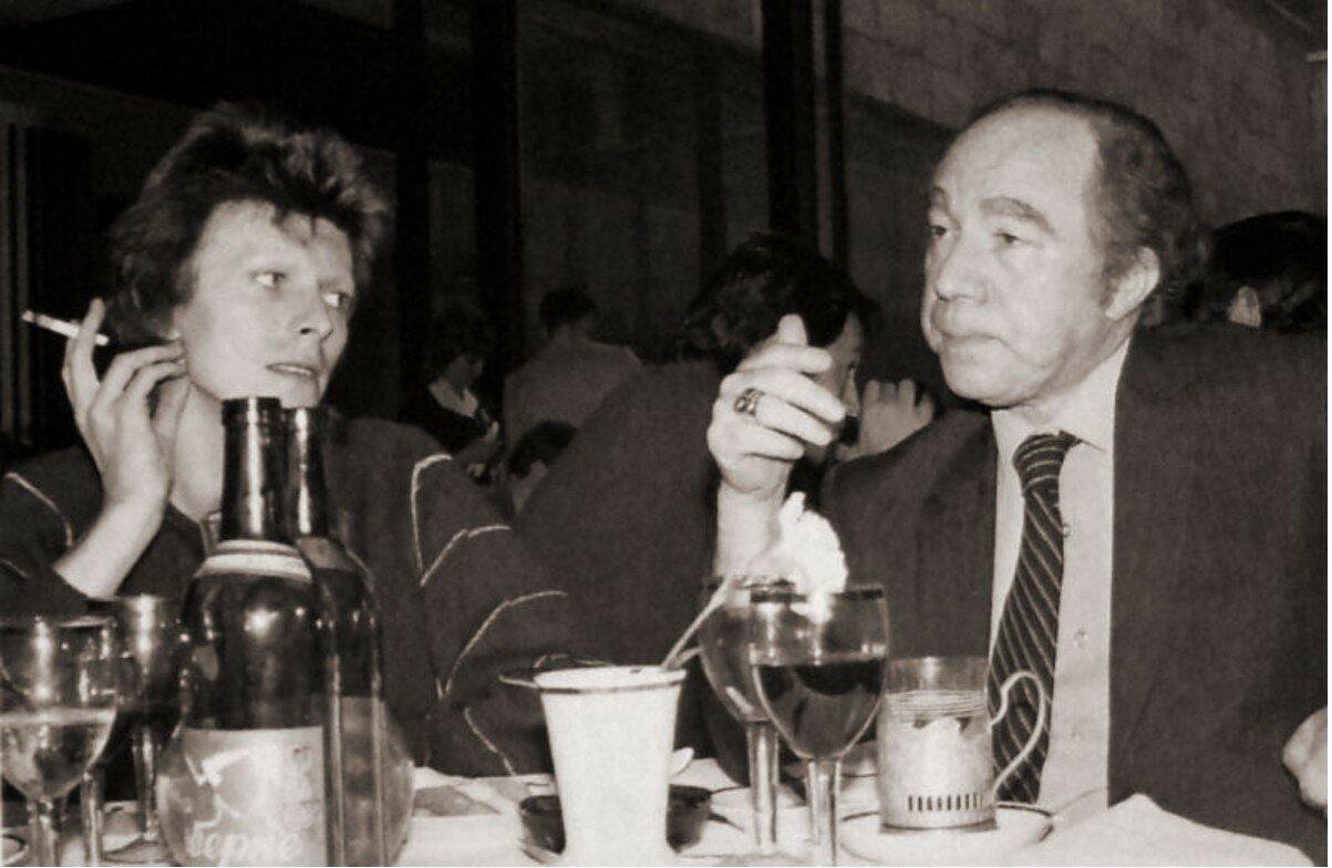 1973. Дэвид Боуи в ресторане Метрополь, Москва