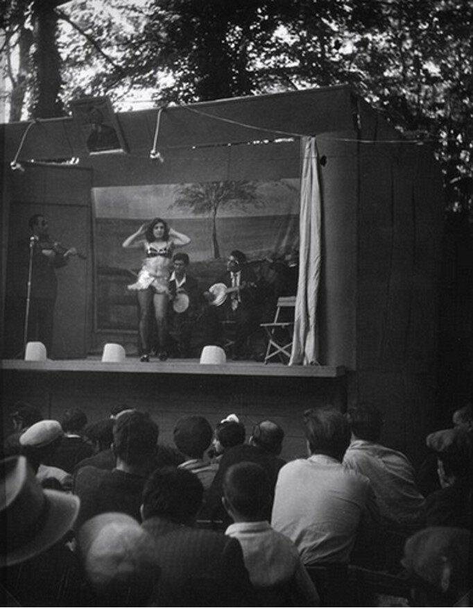 1950. Без названия (Деревенская певица)