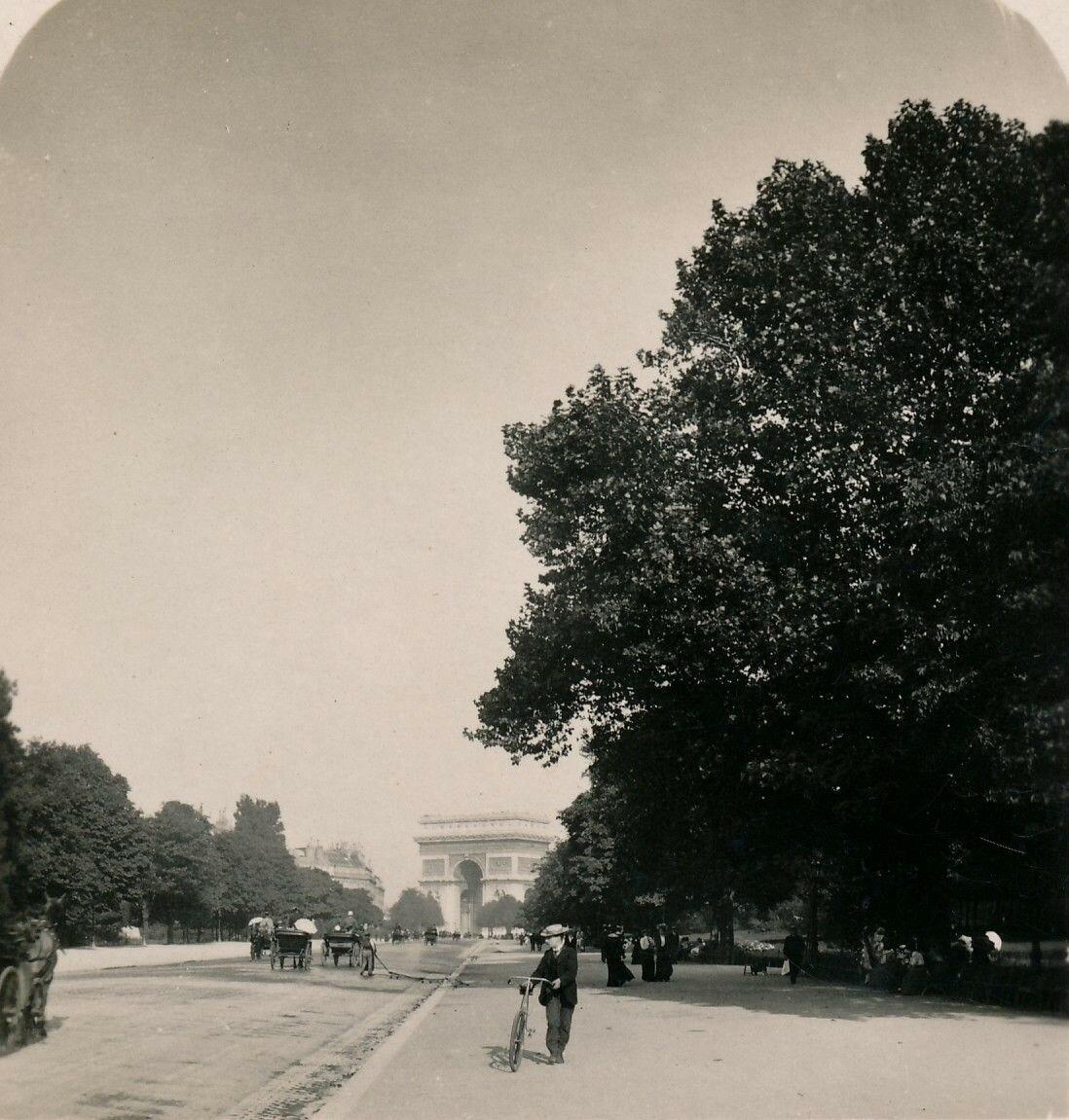 Авеню дю Буа де Булонь.
