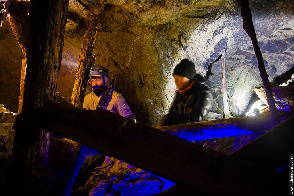 Заброшенная шахта на золото