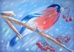 """Головяшкин Тимофей (рук. Стрикулистова Лидия Константиновна) - """"Снегирь"""""""