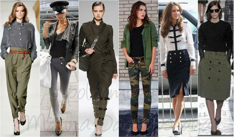 Туфли-лодочки+стиль Милитари. Сайт 'ЖЕНЩИНА' Одежда для Полных Marina Danilewskaya