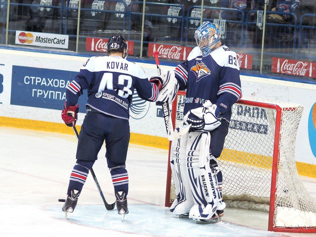 24Восток 1/2 плей-офф Металлург - Сибирь 08.03.2016