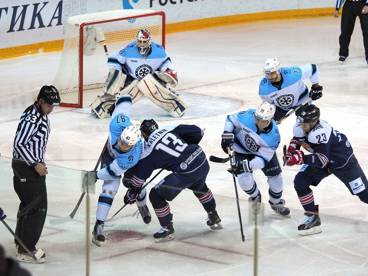 53Восток 1/2 плей-офф Металлург - Сибирь 08.03.2016