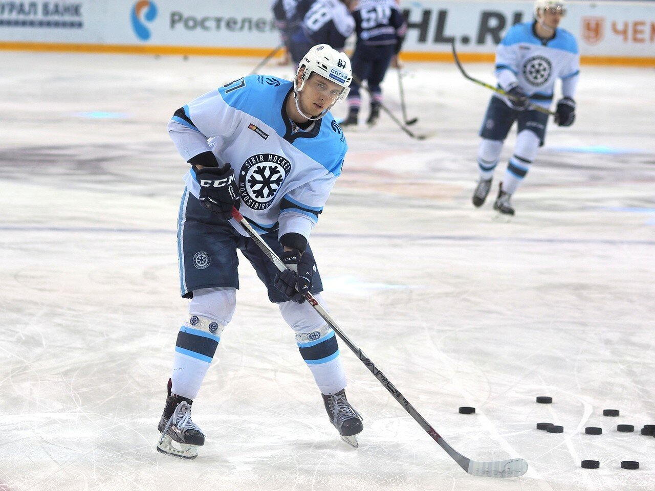 10Плей-офф 2016 Восток 1/2 Металлург - Сибирь 10.03.2016