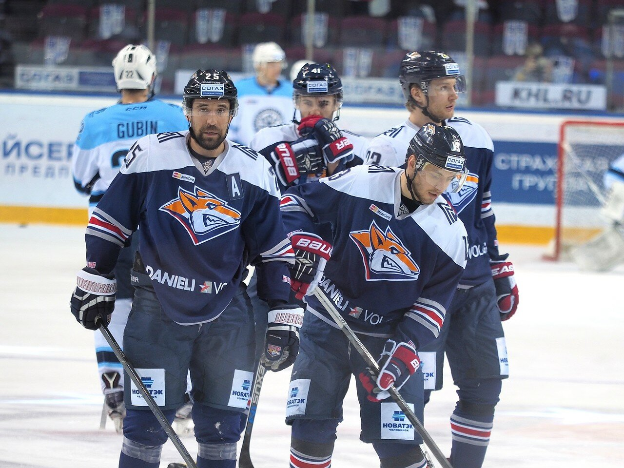 37Плей-офф 2016 Восток 1/2 Металлург - Сибирь 10.03.2016