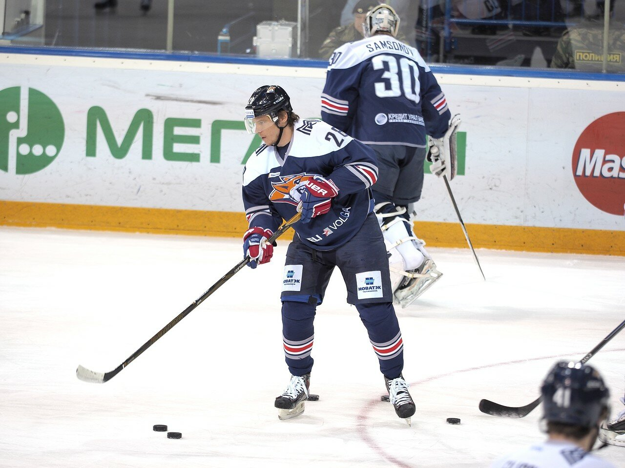 36Плей-офф 2016 Восток 1/2 Металлург - Сибирь 16.03.2016