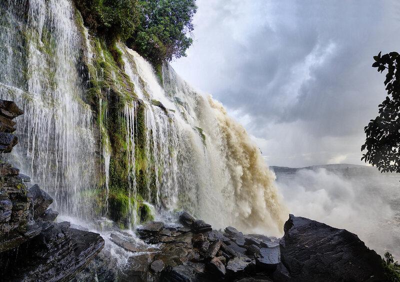 Водопад Ача.