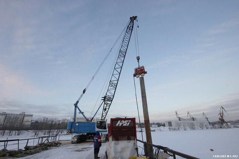 Ход строительства Фрунзенского моста в Самаре