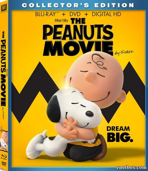 Снупи и мелочь пузатая в кино / The Peanuts Movie (2015/BDRip/HDRip/3D)