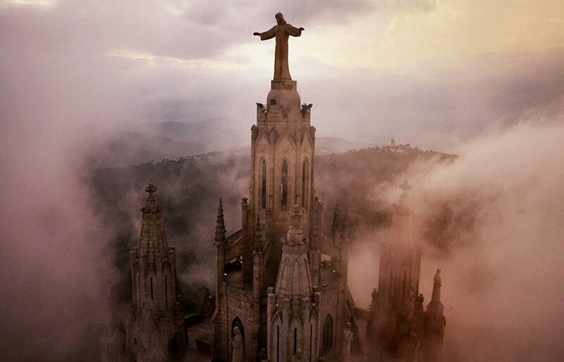 Храм Святого Сердца (фото с помощью беспилотника)