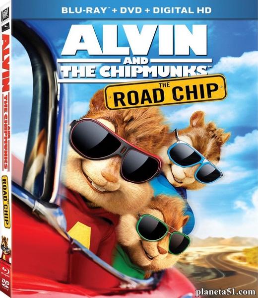 Элвин и бурундуки: Грандиозное бурундуключение / Alvin and the Chipmunks: The Road Chip (2015/BDRip/HDRip)