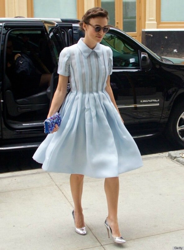 Celebrity Sightings In New York City - June 26, 2014