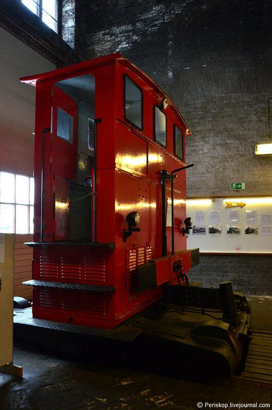 Станция Тойяла. Ж-д музей в паровозном депо