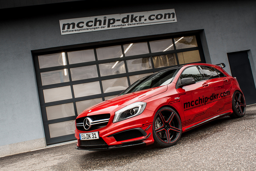 Mercedes-Benz A 45 AMG получил «прокачку» от Mcchip-DKR