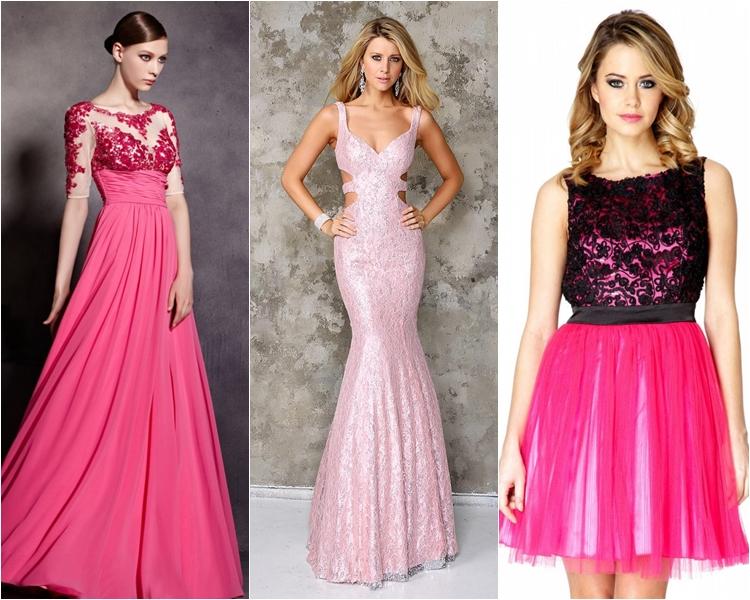Платья розовые на выпускной 2016