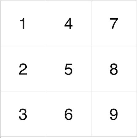 пример квадрата