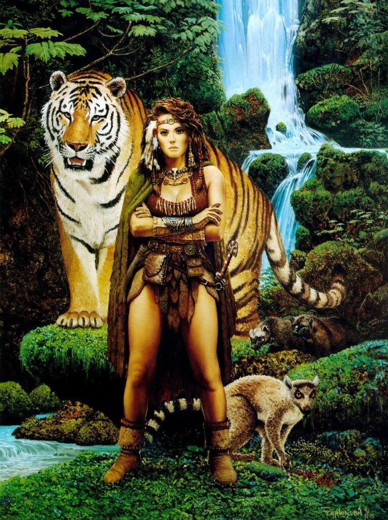 Среди зверей и Природы ... .jpg
