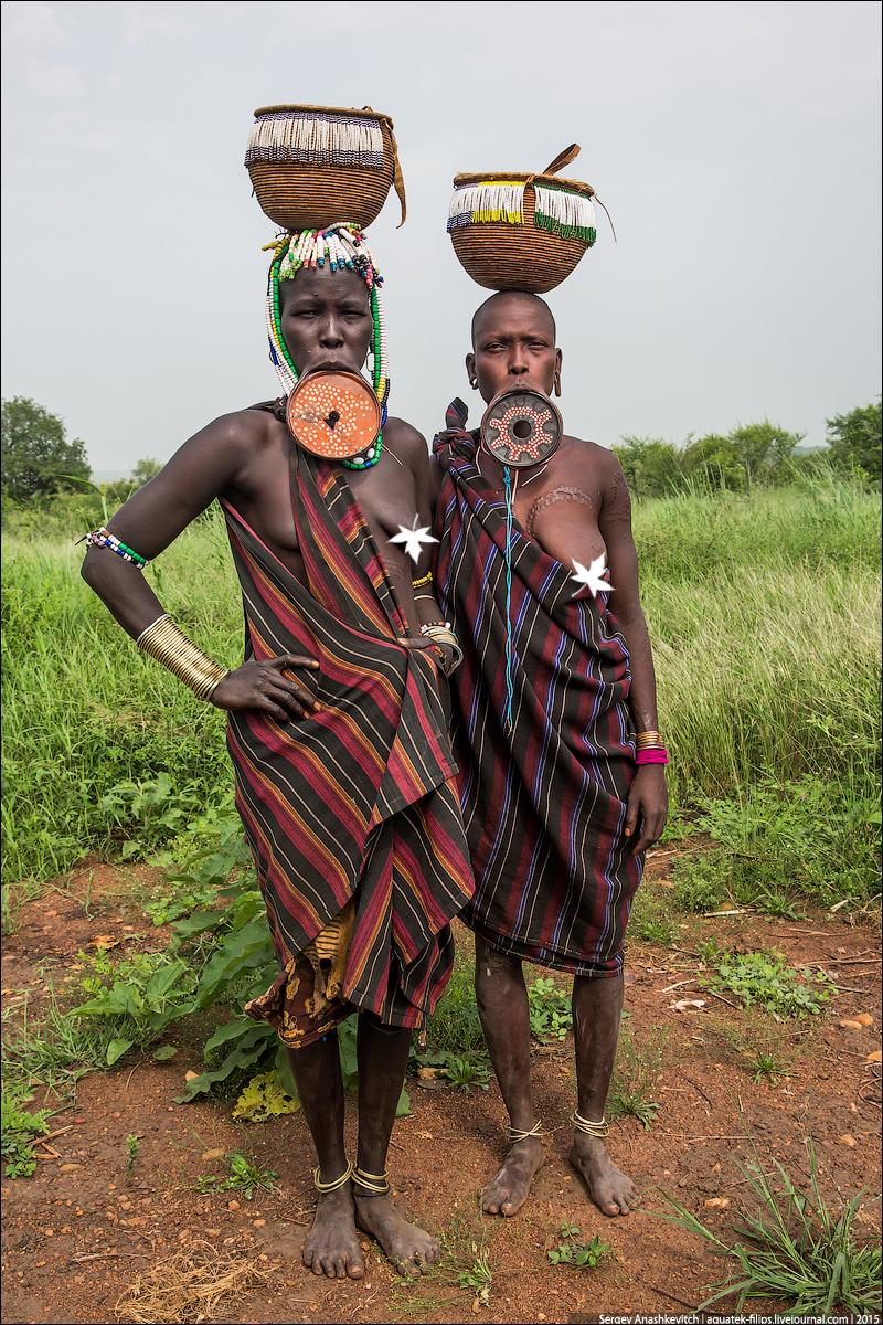 Mursi tribe, Ethiopia / Племя мурси в Эфиопии
