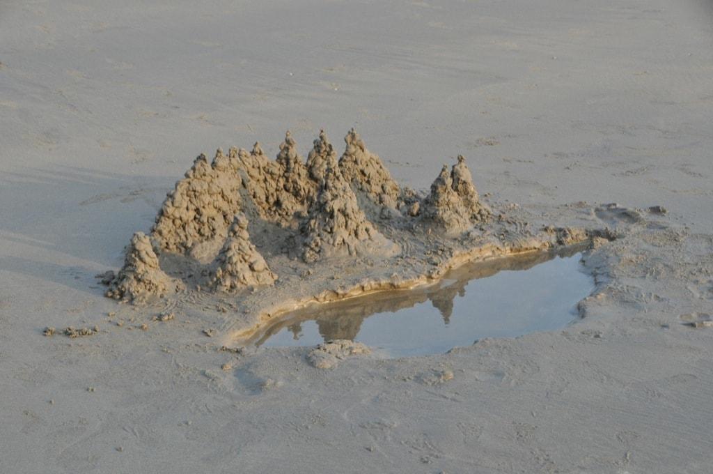 Песочные (грязевые) замки