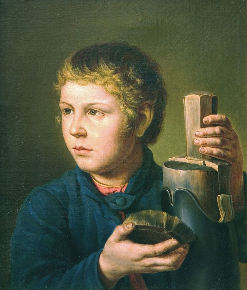 Мальчик, чистящий сапог.jpg