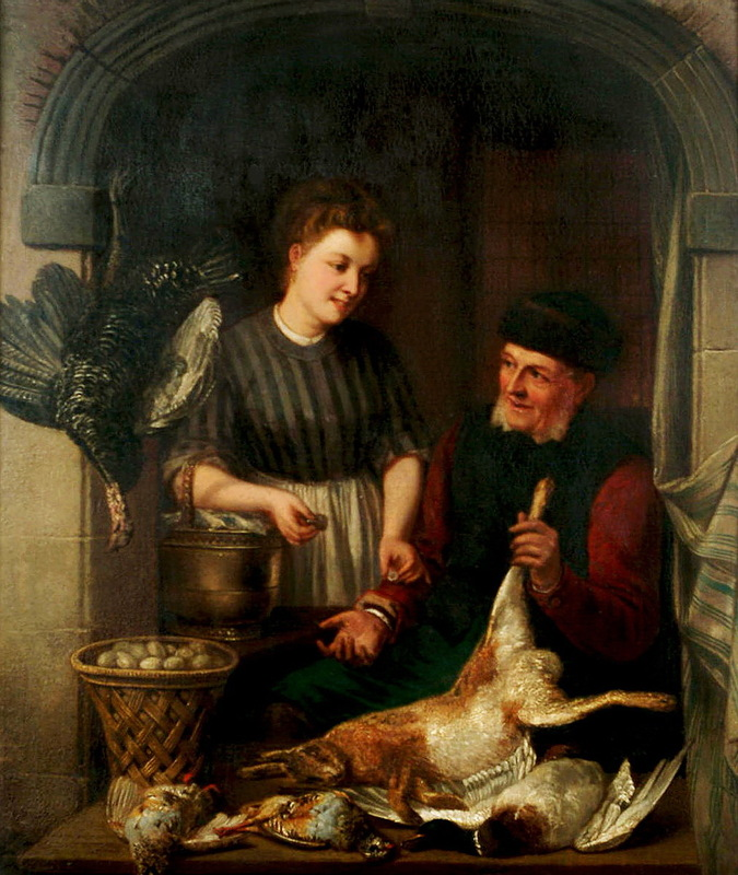 Adrien Joseph Verhoeven-Ball (Belgian, 1824-1882) - Les offres reciproques.jpg