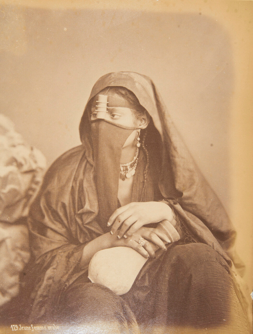 Молодая арабка. 1875-82